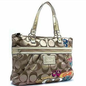 Coach Poppy Pop C Signature Shoulder Bag